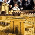Israelitas quieren ver su templo construido