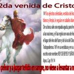 2da venida de Cristo después del arrebatamiento