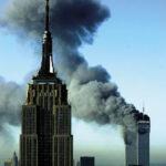 Las Torres Gemelas 9/11 desde el espacio