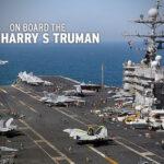 EE.UU. movilizará 4 portaaviones rumbo a costas iraníes