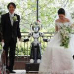 Robot casó a una pareja japonesa
