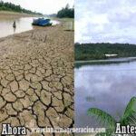 Río Negro en Amazonas se seca