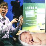 A Bill Gates le gustaría registrar a todos los bebés del mundo