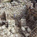 Descubren un muro antiguo que data de la época de Salomón