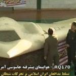 Irán exhibe el avión secreto de EE.UU. capturado