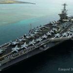 Tras disparar a barco, EE.UU. enviará otro portaviones al GP