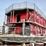 Por apocalipsis Maya hombre diseña casa-barco para escapar