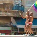 Miles desfilan en Israel Tel Aviv por orgullo gay