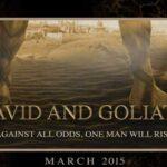 Película nueva de David y Goliat en rodaje