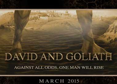 David y Goliat nueva pelicula